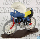 Cyclist Smurf (Belgian Olympic promo)