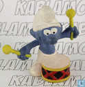 Drummer Smurf (yellow sticks)