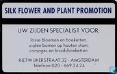 Silk Flower and Plant promotion