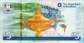 Royal Bank of Scotland 5 Pounds Ryder Cup CommemorativeRoyal Bank of Scotland 5 Pounds Ryder Cup Commemorative