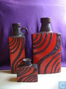 Most valuable item - Set Scheurich in black and red fatlava