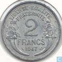 Coins - France - France 2 francs 1947 (without B)