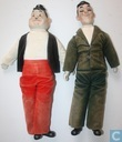 Laurel & Hardy dolls