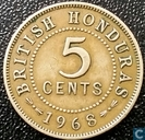 British Honduras 5 cents 1968