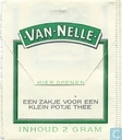 Tea bags and Tea labels - Van Nelle - Afternoon Thee