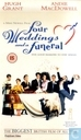 DVD / Video / Blu-ray - VHS video tape - Four Weddings and a Funeral