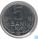 Moldavie 5 bani 2005