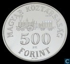 "Hungary 500 forint 1991 (PROOF) ""200th anniversary Count István Széchenyi"""