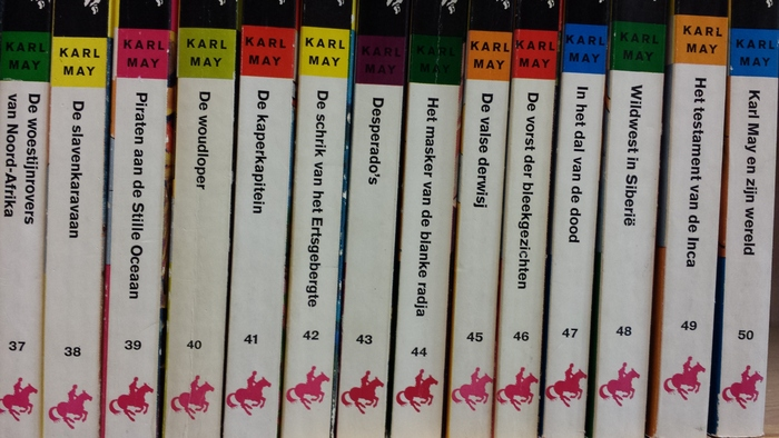 Karl May - Complete pocketserie Prisma - 50 delen - 1962/1967
