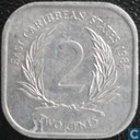 Eastern Caribbean States 2 cents 1984