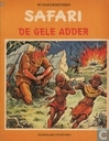Bandes dessinées - Safari - De gele adder