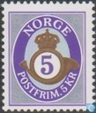 Postage Stamps - Norway - 2002 Posthoorn 500
