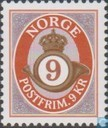 Postage Stamps - Norway - Horn