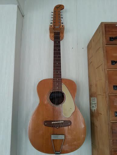 guitare acoustique fender 1969 villager 12 cordes catawiki. Black Bedroom Furniture Sets. Home Design Ideas