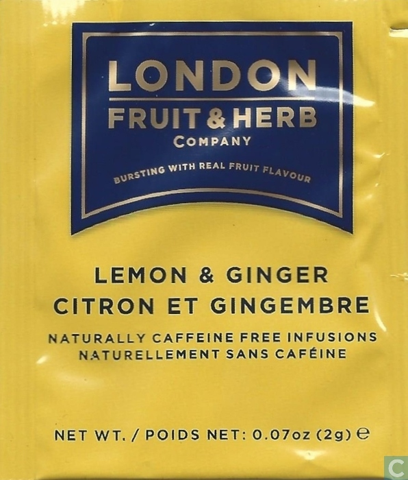 Lemon & Ginger - London Fruit & Herb Company - Catawiki