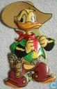 Donald Duck as a Cowboy