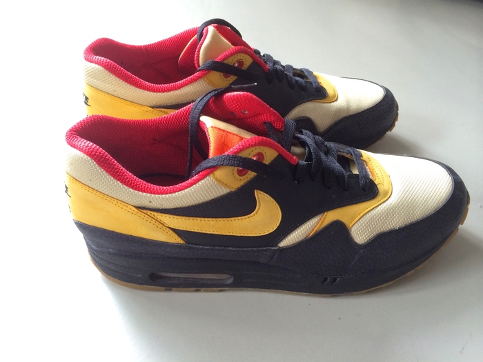best service 036a9 d1a76 Vintage NIKE AIR MAX 1 Supreme heren sneakers