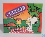 Snoopy miniature Picnic fun set