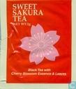 Black Tea with Cherry Blossom Essence & Leaves