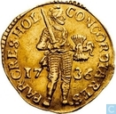 Holland 1 ducat 1736