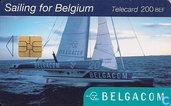 Sailing for Belgium