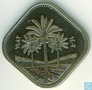 Iraq 500 fils 1982 (Palm trees - filsan)