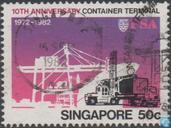 10 years container terminal