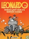 Comic Books - Leonardo - In nood leert men z'n genieën kennen