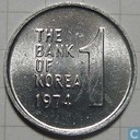 Zuid-Korea 1 won 1974