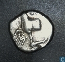 Oldest item - Byzantion, Thrace, AR the Hemidrachme, 380-340 BC, unknown ruler