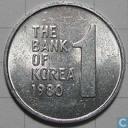 South Korea 1 won 1980