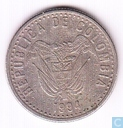 Colombia 50 pesos 1994 (66 points in circle)