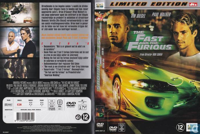 the fast and the furious dvd catawiki. Black Bedroom Furniture Sets. Home Design Ideas