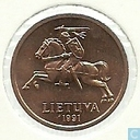 Coins - Lithuania - Lithuania 20 centu 1991
