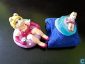 Miss Piggy en natation bande SOAP