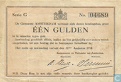 1 Guilder 1914 City of Amsterdam