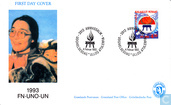 Postage Stamps - Greenland - International year of the woman