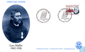 Postage Stamps - Greenland - Famous people
