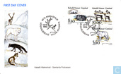 Postage Stamps - Greenland - Native Mammals