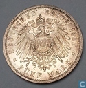 "Prusse 5 mark 1901 ""200th Anniversary of the Kingdom of Prussia"""