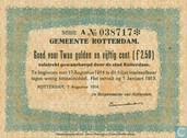 2 ½ Gulden 1914 city of Rotterdam