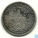 German Empire 1 mark 1876 (F)