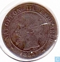 Frankreich 2 Centime 1854 (A)