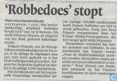 'Robbedoes' stopt
