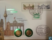 Last day stamp Berlin