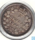 Canada 5 cents 1881