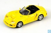 Marcos LM 500 Convertible 1996 Yellow