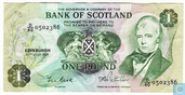 Scotland 1 Pound 1981 Bank of Scotland