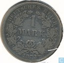 German Empire 1 mark 1873 (F)