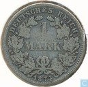 Empire allemand 1 mark 1874 (E)